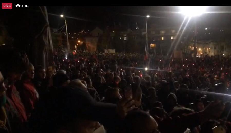 protest slovakia