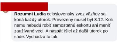 cernak vo vaznici v Presove